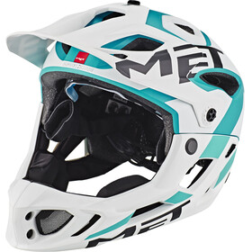 MET Parachute - Casco de bicicleta - blanco